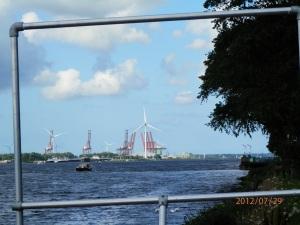 Noord Zee Kanaal bij Amsterdam Zaandam